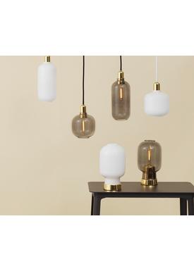 Normann Copenhagen - Lampe - Amp Lamp - Large - Røget/Brass