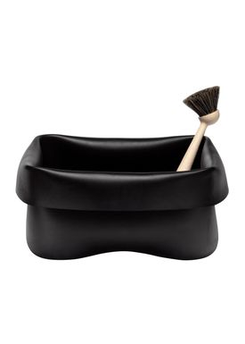 Normann Copenhagen - Washing up - Washing Up Bowl & Brush - Black
