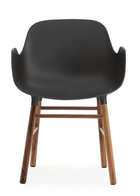 Normann Copenhagen - Chair - Form Chair - Black/Walnut
