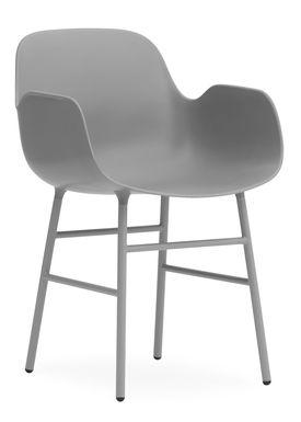 Normann Copenhagen - Chair - Form Chair - Grey/Grey
