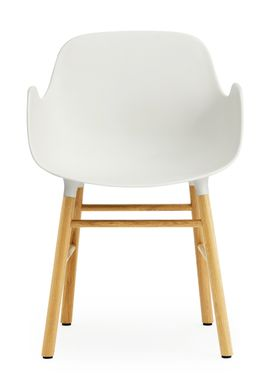 Normann Copenhagen - Chair - Form Chair - White/Oak