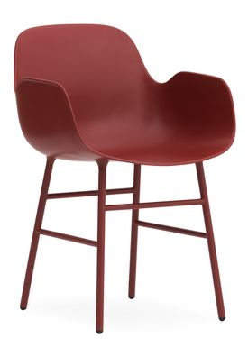 Normann Copenhagen - Chair - Form Chair - Red/Red