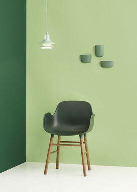 Normann Copenhagen - Chair - Form Chair - Green/Oak