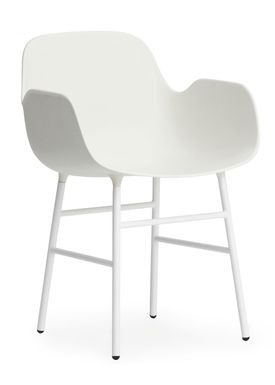 Normann Copenhagen - Chair - Form Chair - White/White