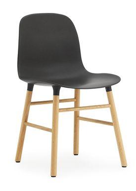 Normann Copenhagen - Chair - Form Chair - Black/Oak