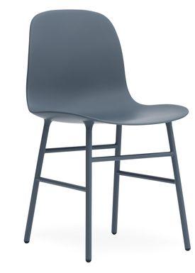 Normann Copenhagen - Chair - Form Chair - Blue/Blue