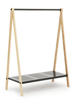 Normann Copenhagen - Clothes Rack - Toj Clothes Rack - Large - Dark Grey