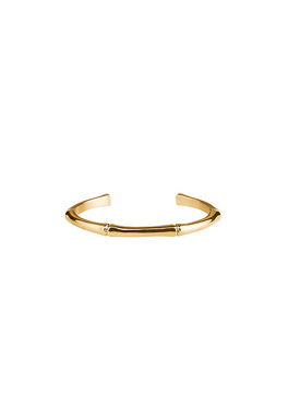 Plissé Copenhagen - Bracelet - Bamboo Bangle - Gold