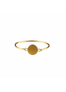 Plissé Copenhagen - Bracelet - Pendant Bracelet - Gold