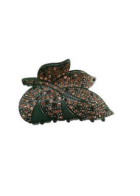 Plissé Copenhagen - Hair Clip - Kamma Vintage Hairclip - Grass Green