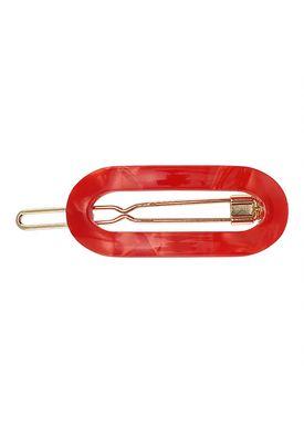 Plissé Copenhagen - Hair Clip - Saga - Red