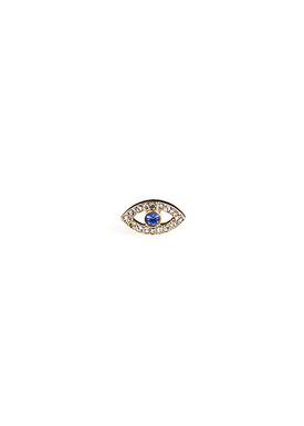 Plissé Copenhagen - Earrings - Eye Topaz Earring - Gold