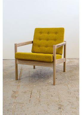 Risskov Møbelsnedkeri - Lænestol - KK 161 Chair - Eg med Tonica 2 stof