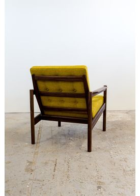 Risskov Møbelsnedkeri - Lounge Chair - KK 161 Chair - Walnut with Tonica 2 fabric