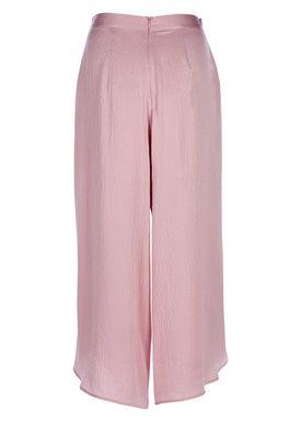 Rodebjer - Pants - Nola Silk Pants - Petal Pink