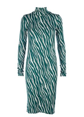 Rodebjer - Dress - Shark Flow Dress - Ultra Pine