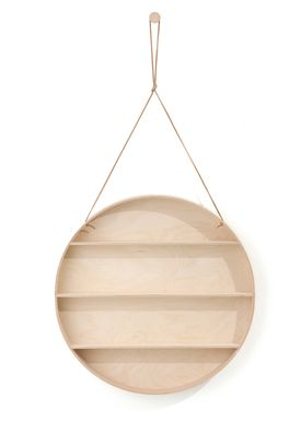 Ferm Living - Shelf - Round Dorm - Beech & Birch