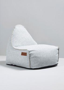 SACKit - Bean Bag - RETROit Cobana / Out & indoor - White