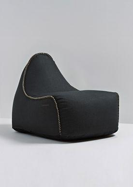 SACKit - Bean Bag - RETROit Medley / Premium Bean Bag - Black - 60999