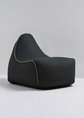 SACKit - Sækkestol - RETROit Medley / Luksus sækkestol - Black - 60999