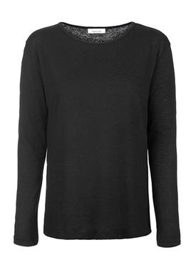 Samsøe & Samsøe - Bluse - Nobel LS - Black