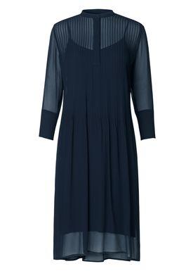 Samsøe & Samsøe - Klänning - Elm Shirt Dress One - Dark Sapphire