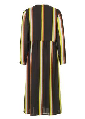 a9597ff92413 ... Samsøe   Samsøe - Kjole - Raven Dress - Black Multi Stripe