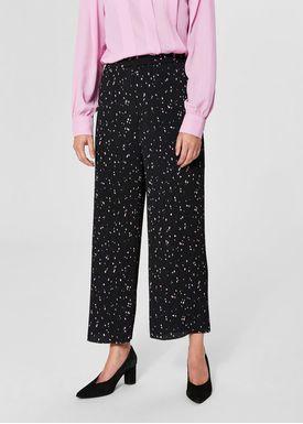 Selected Femme - Byxor - Piper Pants - Black