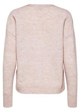Selected Femme - Cardigan - Helka Knit Cardigan - Adobe Rose