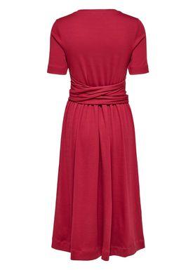 Selected Femme - Dress - Abina Jersey Dress - Beet Red