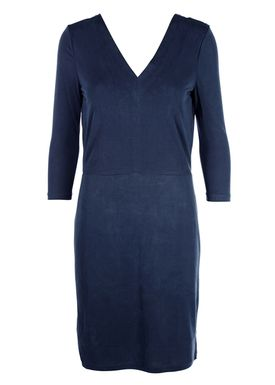 Selected Femme - Dress - Sasha 3/4 Sleeve - Dusty Blue