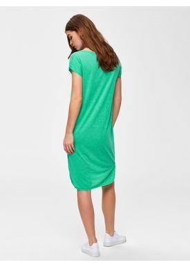 13fa61907c5 ... Selected Femme - Kjole - Ivy Dress SS19 - Gumdrop Green Melange