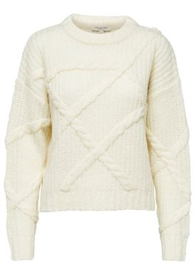 Selected Femme - Knit - Gina Knit - Birch
