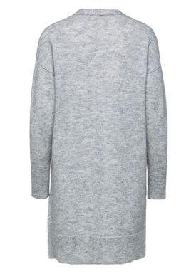 Selected Femme - Knit - Livana Knit Cardi - Light Grey Melange