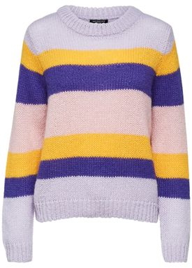 Selected Femme - Knit - Sila Knit O Neck - Pastel Lilac