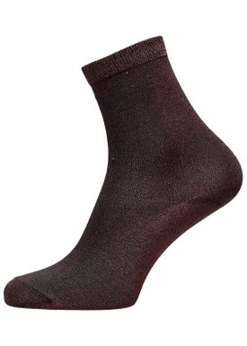 Selected Femme - Socks - Lucy glitter sok - Apricot Ice