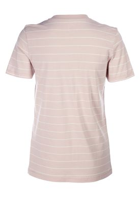 Selected Femme - T-shirt - My Perfect Tee Basic - Sepia Rose/White Stripe
