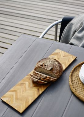 Skagerak - Cutting Board - Sild Tray - Teak / Small