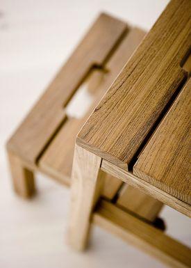 Skagerak - Chair - Dania Step Ladder - Teak