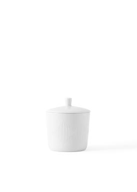 Lyngby Porcelæn - Bowl - Thermodan Sugar Bowl - White
