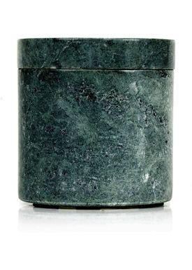 Nordstjerne - Krukke - Small Marble Canister - Grøn Marmor