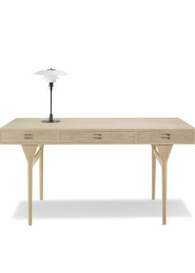 Snedkergaarden - Desk - ND93 Skrivebord - Oak 4 Drawers