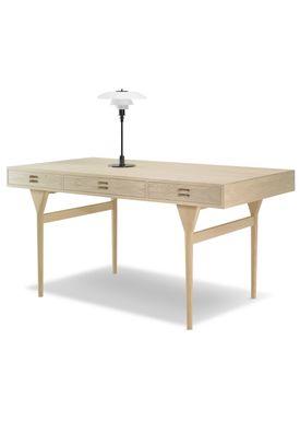 Snedkergaarden - Desk - ND93 Skrivebord - Oak 3 Drawers