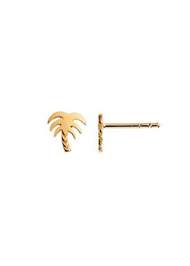 Stine A - Earrings - Petit Palm Earring - Gold