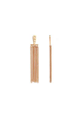 Stine A - Pendant - Dancing Chain Long Behind Ear - Gold