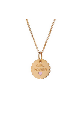 Stine A - Pendant - Girl Power Pendant - Gold