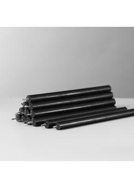 STOFF - Candles - Kerte candle - Black