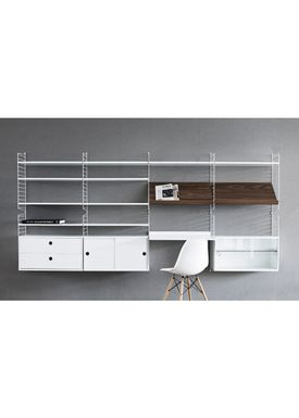 String - Bord - Work Desk - Grey