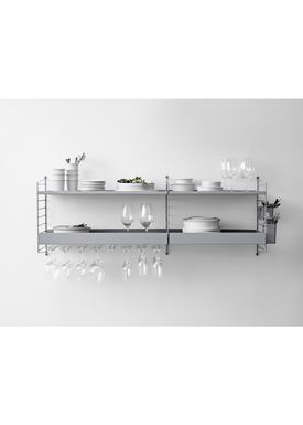 String - Knager - Hanger Rack - White