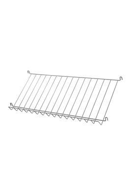 String - Tidningshållare - Wire Magazine Shelf - Grey